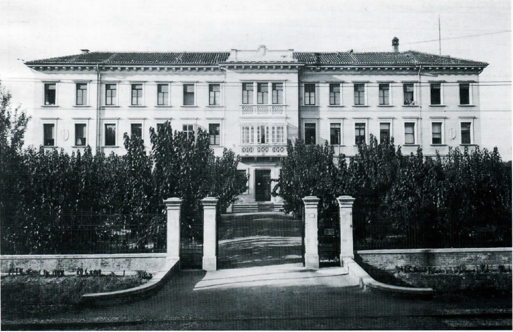 Stazione Bacologica di Padova negli anni '30, ingresso principale