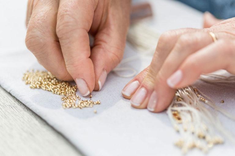 I gioielli in oro e seta 100% italiana by D'orica