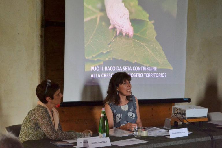 30/05/2018, Villa Saraceno - Agugliaro (VI) - Silvia Cappellozza per il Crea di Padova, progetto Serinnovation